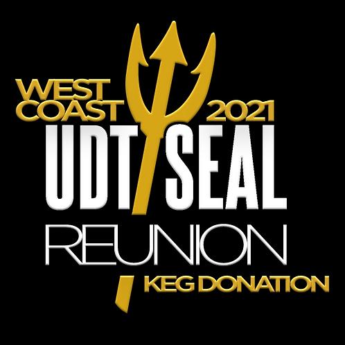 2021 West Coast Reunion Keg Donation