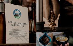 KC Coffee branding
