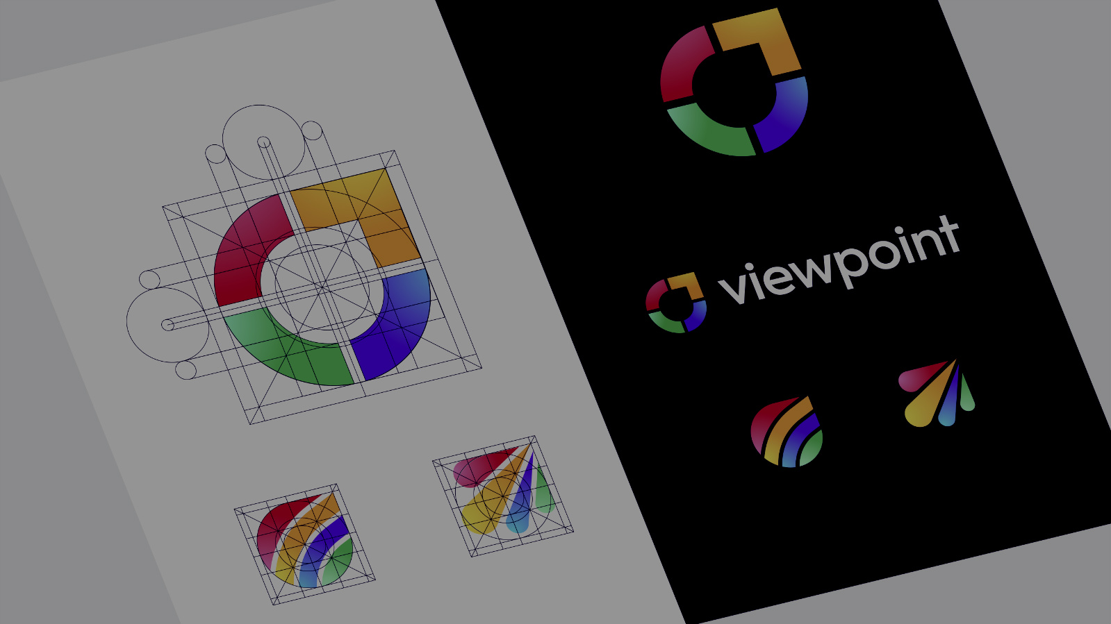 Viewpoint Logo Golden Ratio