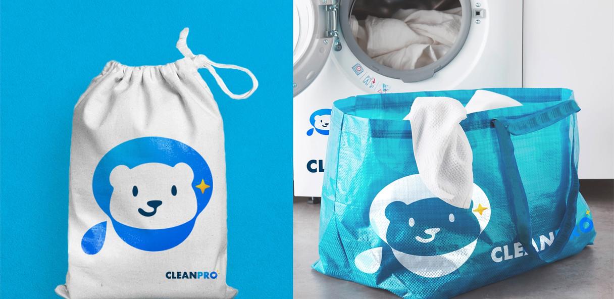 Laundry Bag Mock Up