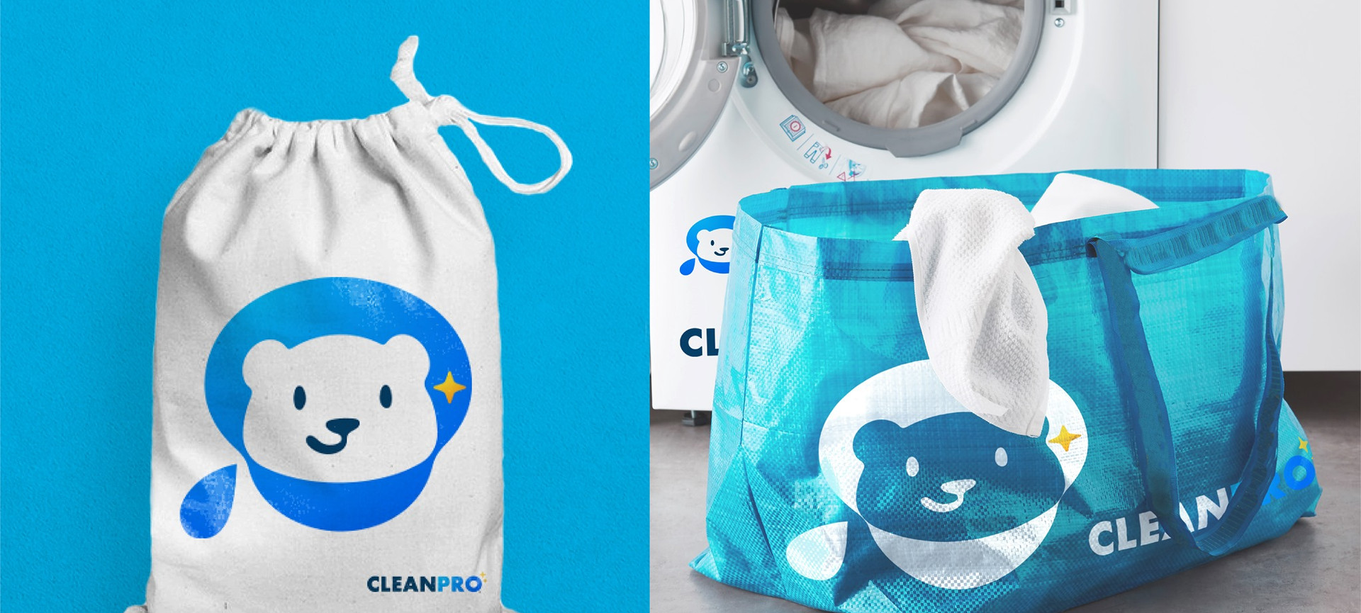 Laundry Bag Mock Up