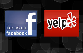 LIKE US ON FACEBOOK & REVIEW US ON YELP!