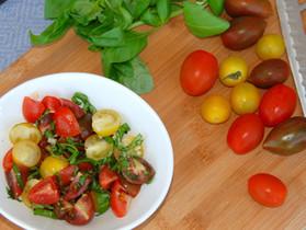 Cherry Tomato Side Salad