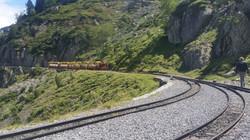 Train ride to Lake of Artouste