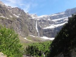 ガヴァルニーの滝 Gavarnie waterfall