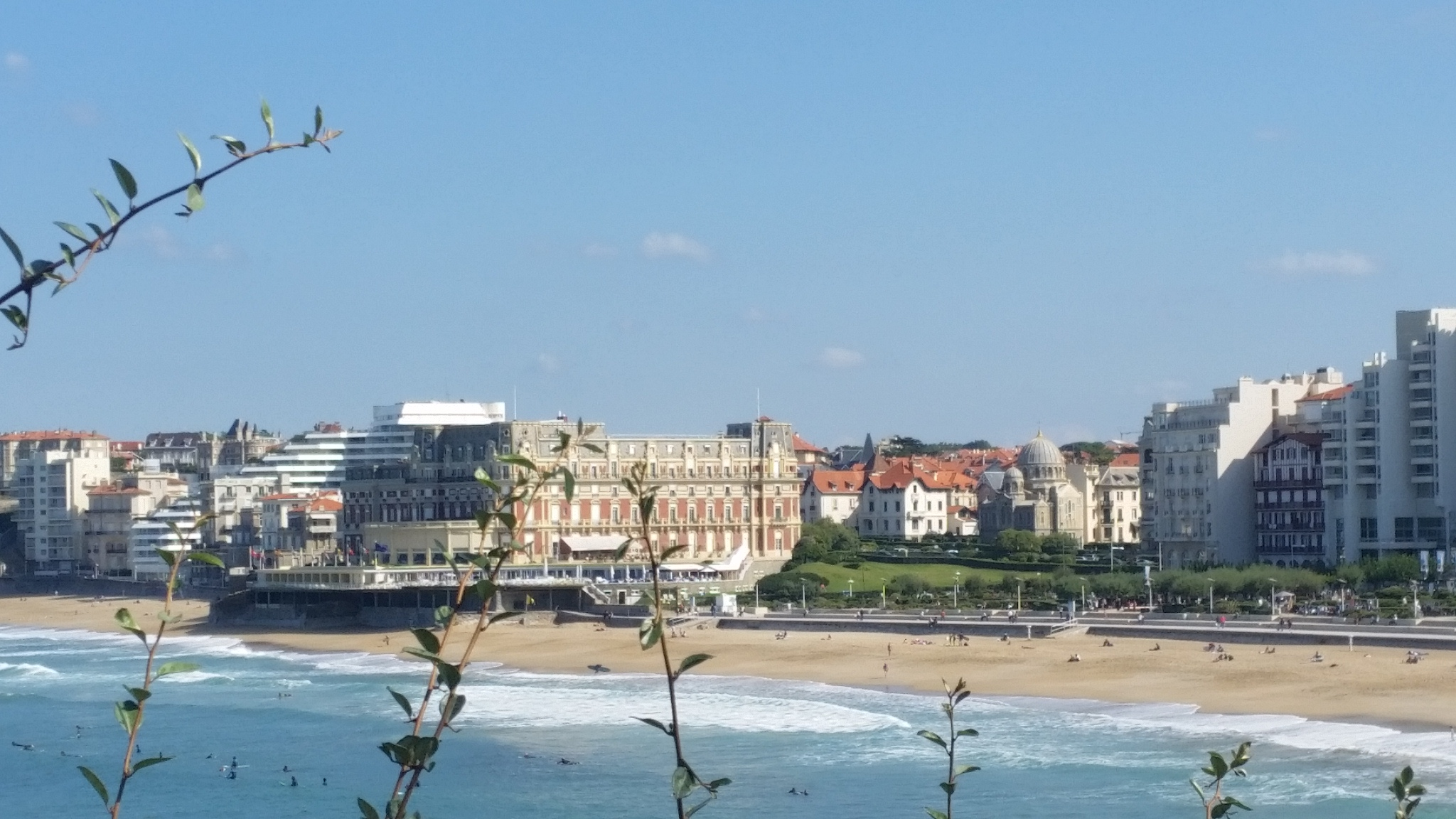 Elegant resort of Biarritz