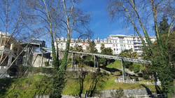 By funicular up to Pau city center