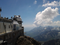 Scenic view from the Pic du Midi