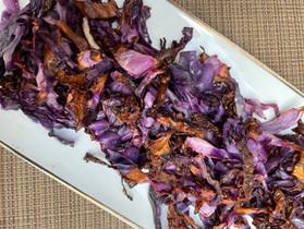 Roasted Purple Cabbage