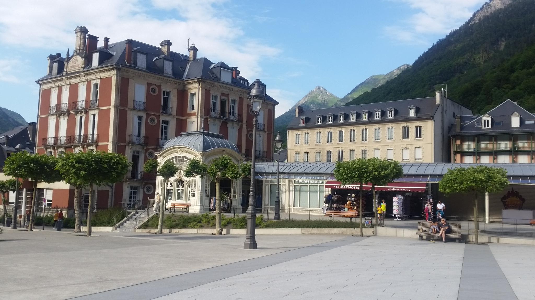 Cauterets Spa town