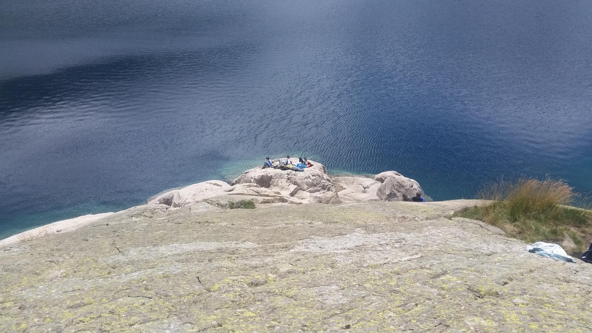 Le lac d'artouste à 1997 m