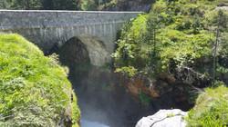 スペイン橋 Pont d'Espagne bridge