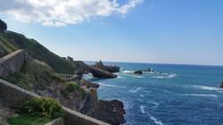 ビアリッツの海岸地 Biarritz coastline