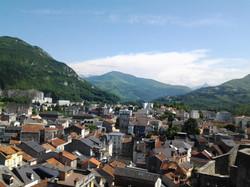 ルルドの街風景 Lourdes city