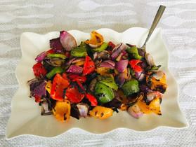 Rainbow Grilled Veggies