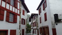 エスプレット村の風景 Espelette
