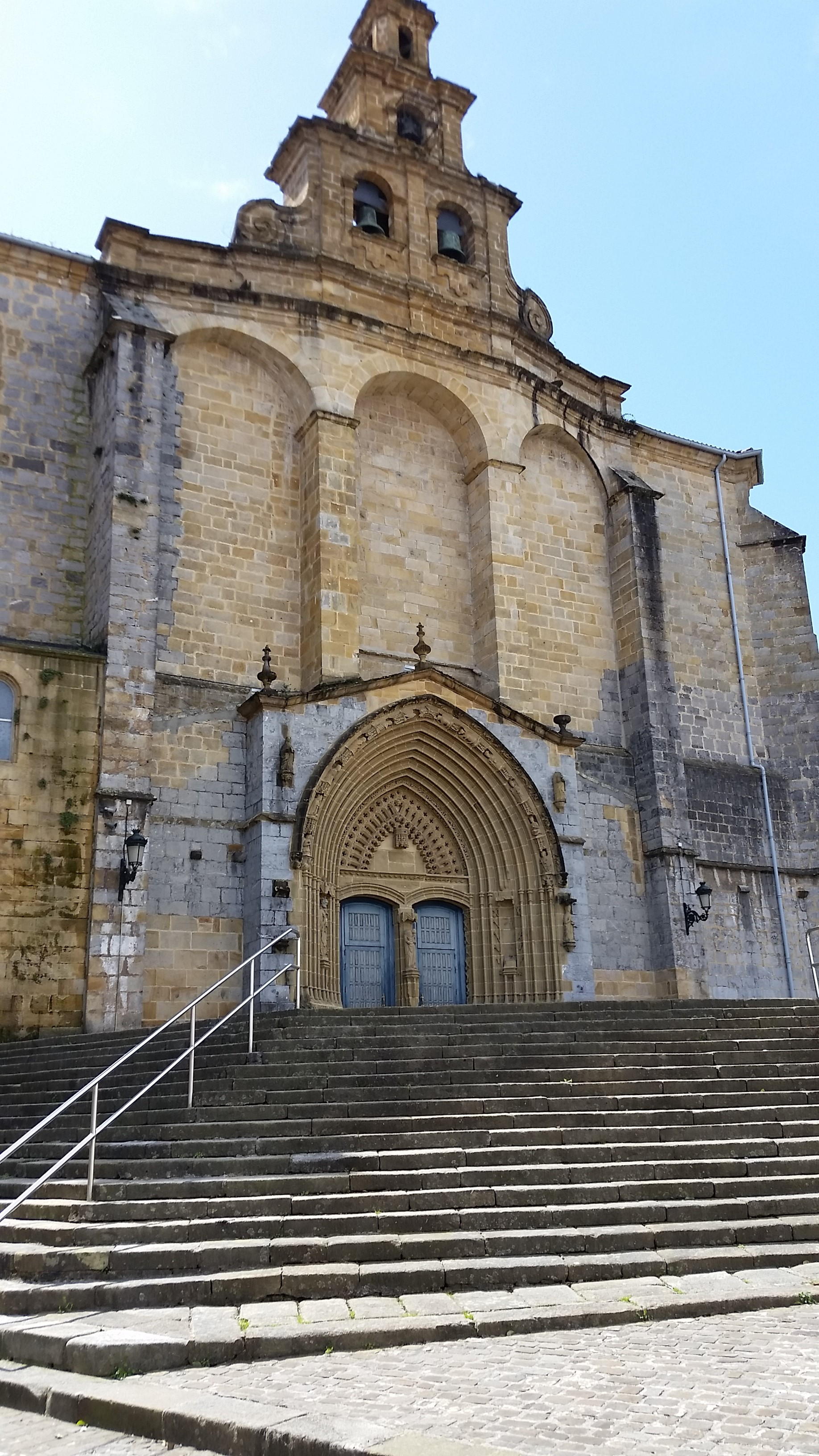 L'église Santa Maria, Gernika-Lumo