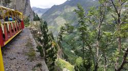 Excursion en train à 2000m d'alt.