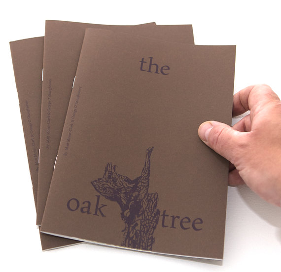 The Oak Tree - Limited edition risograph