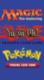 TCG: MTG, Yu-Gi-Oh!, Pokemon