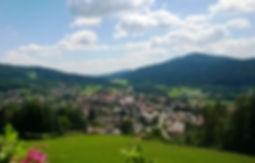 Bodenmais Haus Sonnenfels Ausblick View