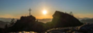 Silberberg Gipfel Summit Bodenmais Sunset Sonnnuntergang