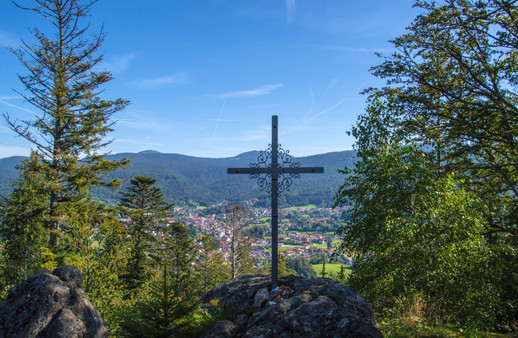 Harlachberg Ausblick View Bodenmais Bayern Bavaria Retreat