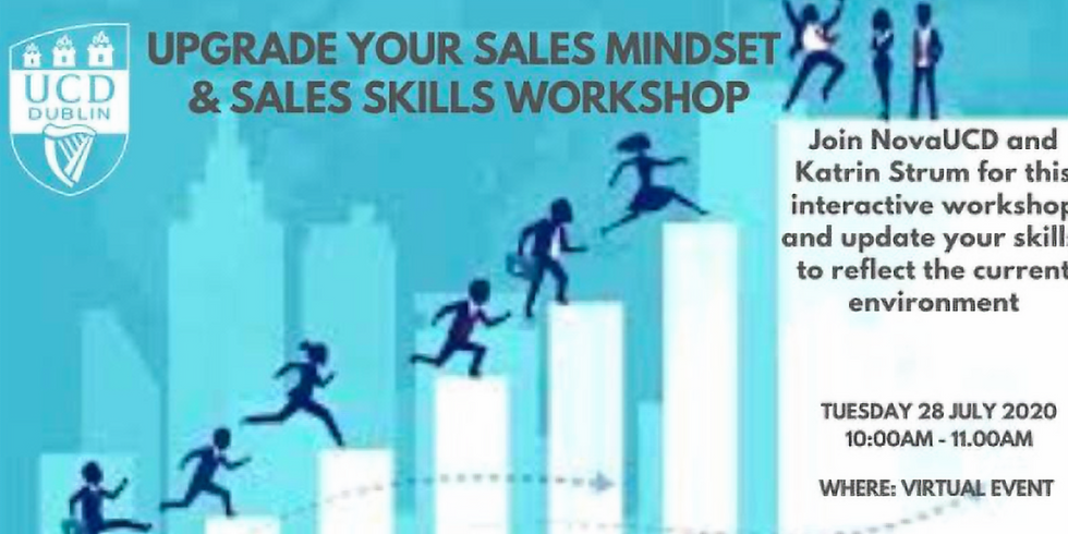 Upgrade your Sales Mindset and Sales Skills