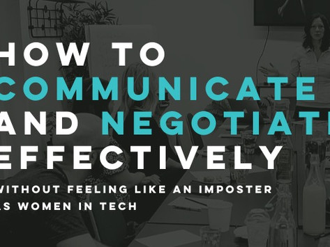Virtual Masterclass: How to communicate and negotiate effectively