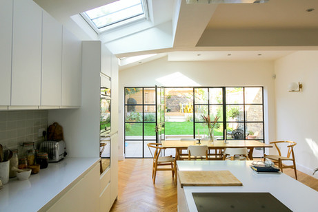 Light, Space & Crittall - House Extension