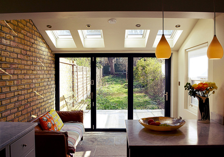 Exposed Brick Rear Extension
