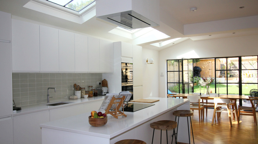 Light Space & Crittall - House Transformation