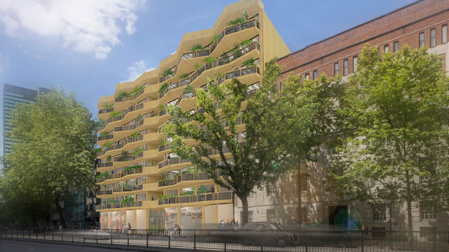 Sustainable urban coliving