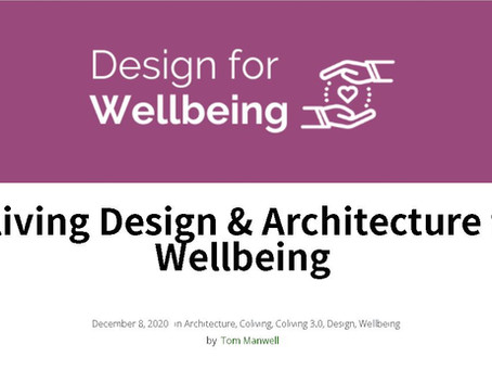 Coliving Design & Architecture for Wellbeing