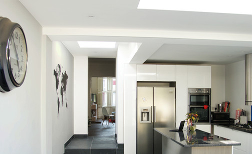 Bright White Rear Extension