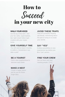 7 Tips fro Moving to a New City