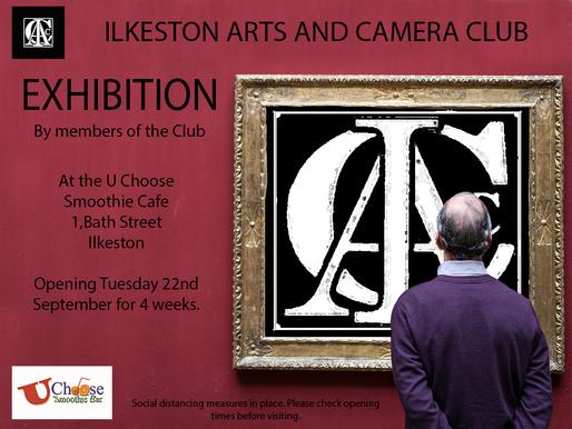 Exhibition at the Smoothie Bar, Ilkeston