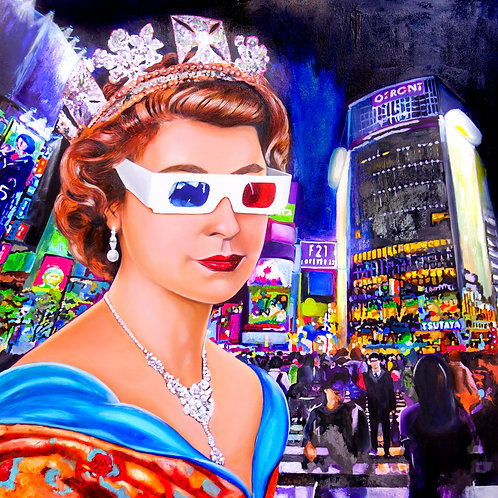 Royal Selfie of a Life in Technicolour