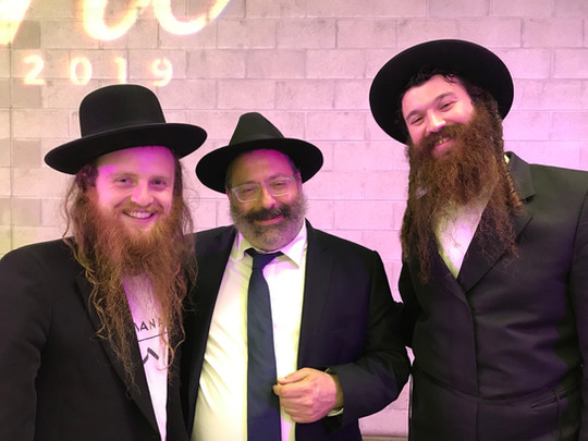 Rabbi YY Jacobson and ZUSHA