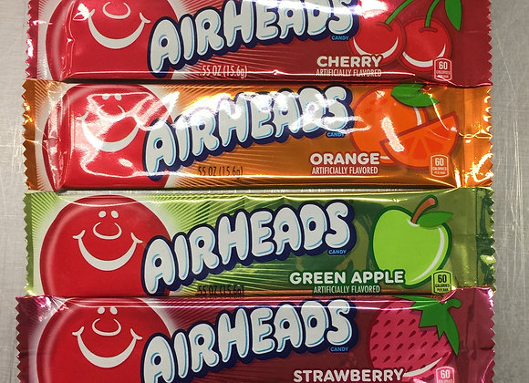 6 Pack Multi Flavored Airheads