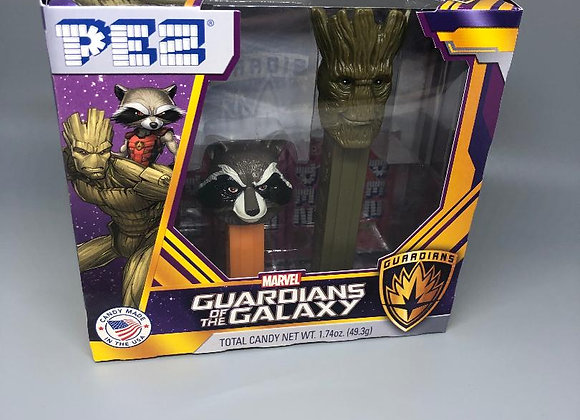 Guardians of the Galaxy Pez Gift