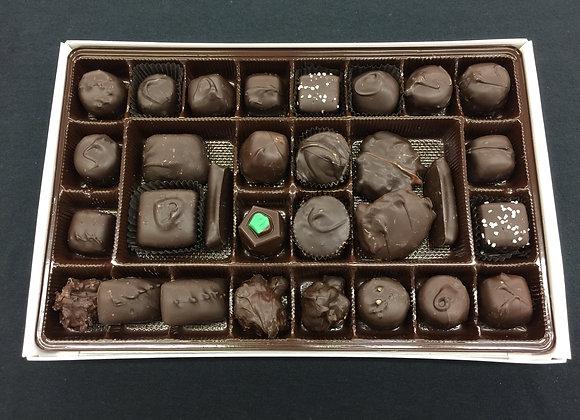 1lb Box of Assorted Dark Chocolates