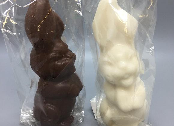 Solid Bent Ear Bunny