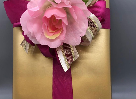 Chocolates with Beautiful Gift Wrap and a bow