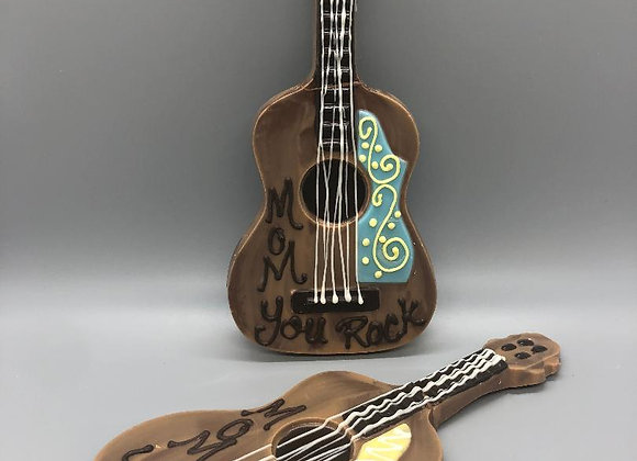 "Chocolate Guitar ""Mom You Rock"""