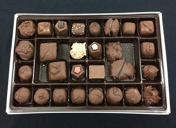 1lb Box of Assorted Milk Chocolates