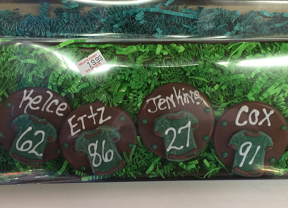 Chocolate Eagles Players Name's and Number's