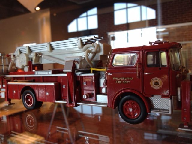 Scaled Model Fire Truck