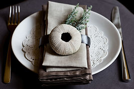 place setting for table