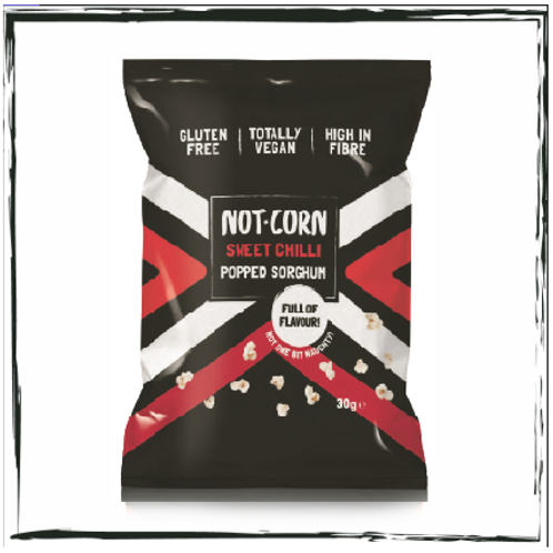 Sweet Chilli Not.Corn (Popped Sorghum) - Box of 28 (30g each)